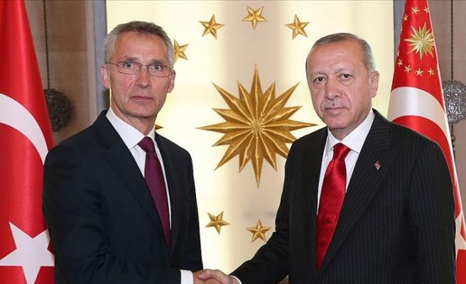 Cumhurbaşkanı Erdoğan ile NATO Genel Sekreteri Stoltenberg telefonda görüştü