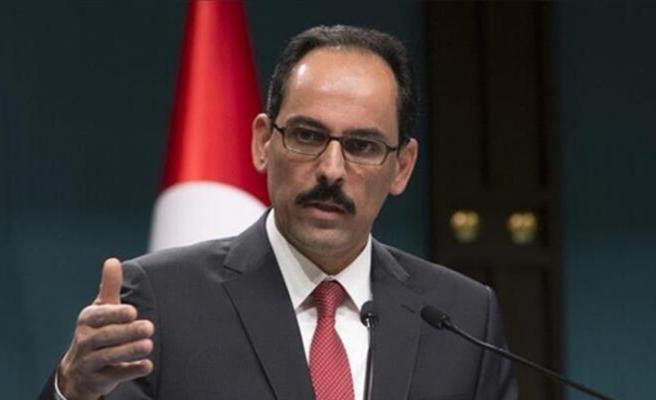 Cumhurbaşkanlığı Sözcüsü İbrahim Kalın'dan İsrail'e sert tepki