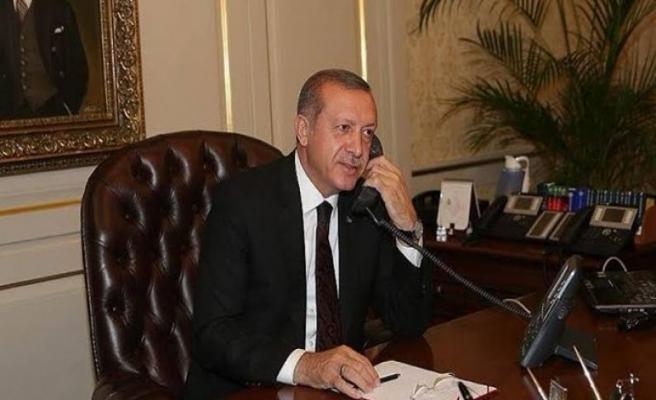 Erdoğan Pakistan lideri ile görüştü