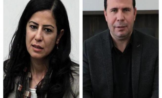 Eski HDP Milletvekili ile DBP eş genel başkanları gözaltında
