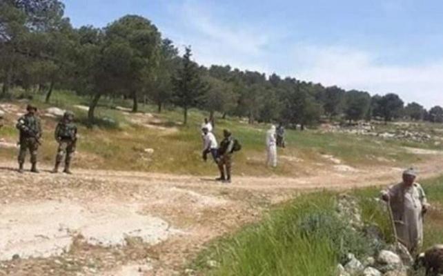 Filistin'de çoban da olsanız kurşunun hedefi olursunuz