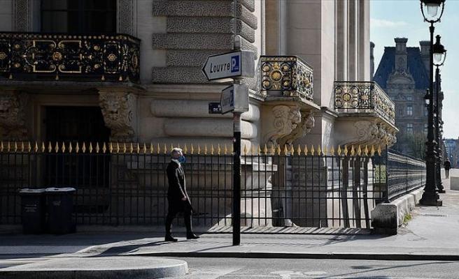 Fransa'da 483 kişi daha Kovid-19 nedeniyle hayatını kaybetti