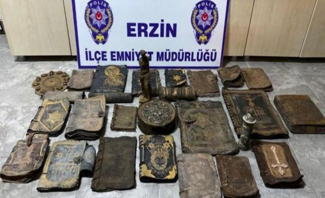 Hatay'da tarihi eser kaçakçılığı yaptıkları iddiasıyla 4 kişi gözaltına alındı