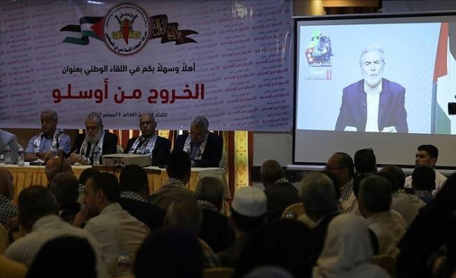 İslami Cihad Hareketinden Filistin davasını tasfiye planlarına karşı 'bölgesel koalisyon' çağrısı