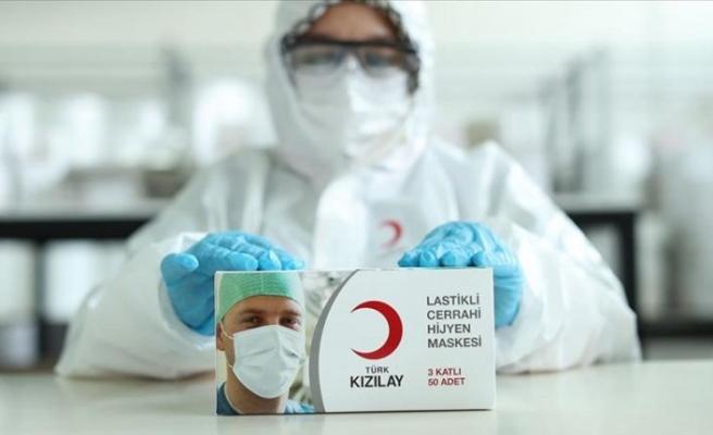 Kızılay eski fabrikasında yıllar sonra yeniden maske üretiyor