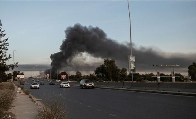 Libya ordusu hava unsurları son 24 saatte Hafter mevzilerine 12 operasyon düzenledi