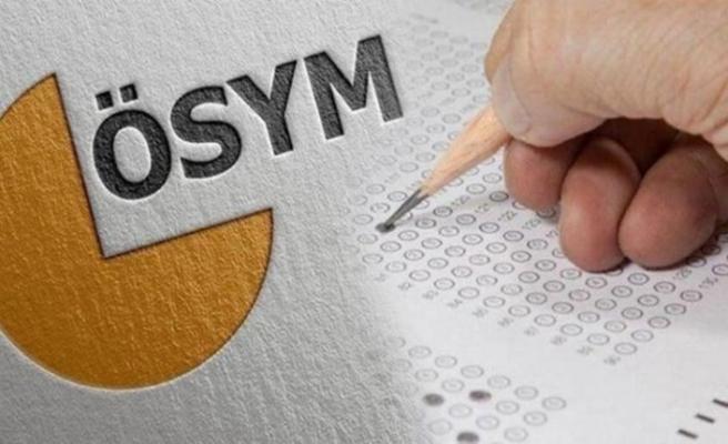 ÖSYM'den sınavların başvuru tarihlerine güncelleme