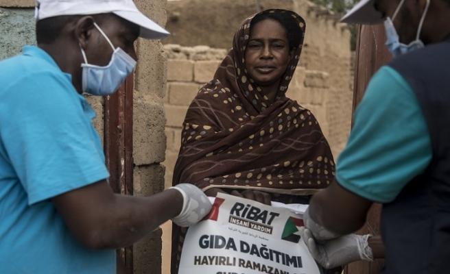 Sudan'da 1500 ihtiyaç sahibi aileye Ramazan yardımı