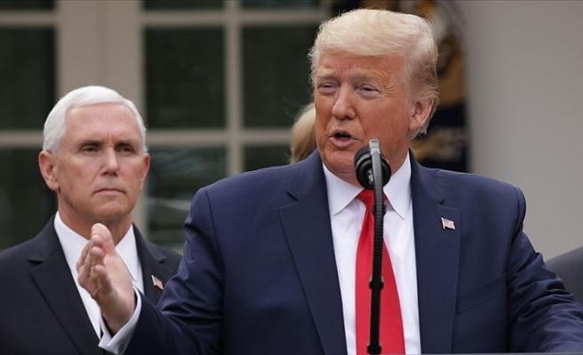 Trump'tan eyalet valilerine 'ibadethanelerin açılmasına izin verin' çağrısı