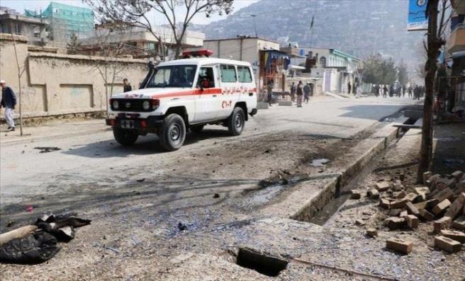 Afganistan'da bombalı saldırıda 11 polis hayatını kaybetti