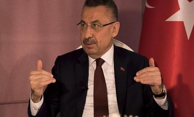 Cumhurbaşkanı Yardımcısı Oktay'dan şehitler için başsağlığı mesajı