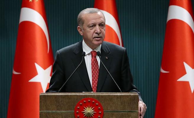 Erdoğan'dan Pençe-Kaplan Operasyonu şehidi için başsağlığı mesajı