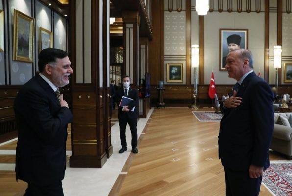 Erdoğan - Serrac görüşmesi başladı