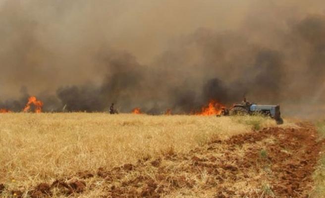 Esed rejimi halkın ekinlerini yakıyor, 'açlık bombası' yöntemiyle diz çöktürmek istiyor