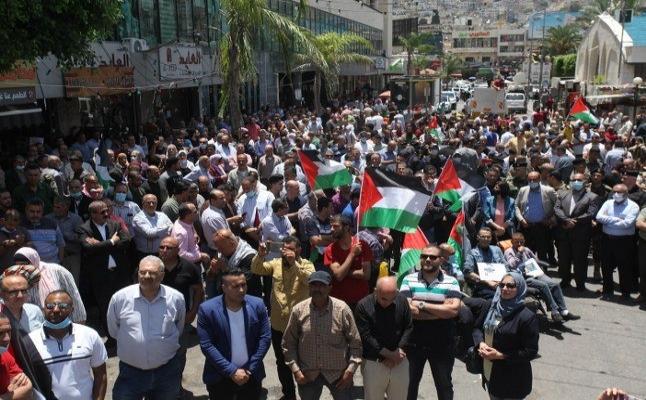 Filistinlilerden Batı Şeria'da