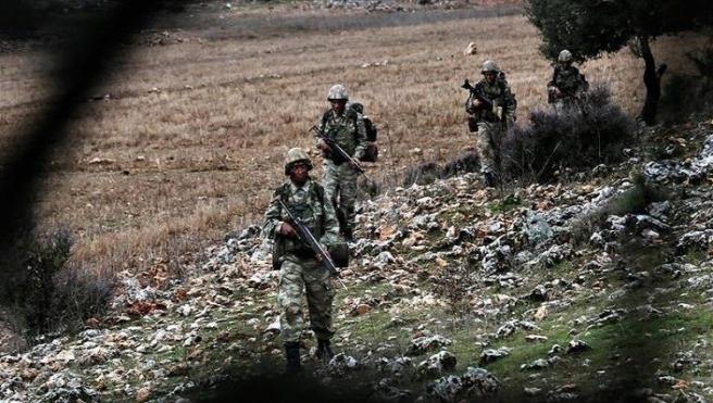 İçme suyu için çalışan işçilere saldıran PKK'lılar etkisiz hale getirildi