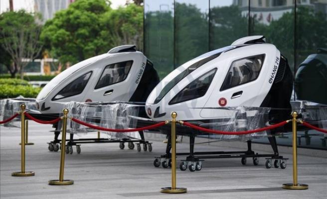 İnsan taşıyan dronelar uçuşa hazır
