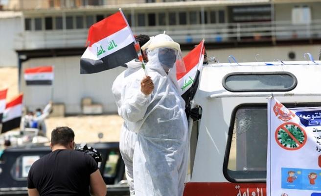 Irak'ta son 24 saatte 1252 yeni Kovid-19 vakası görüldü