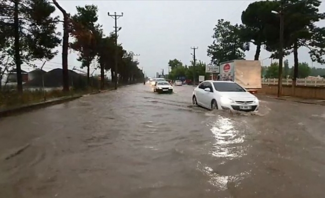 Kestel'de sel yüzünden bir kişi öldü