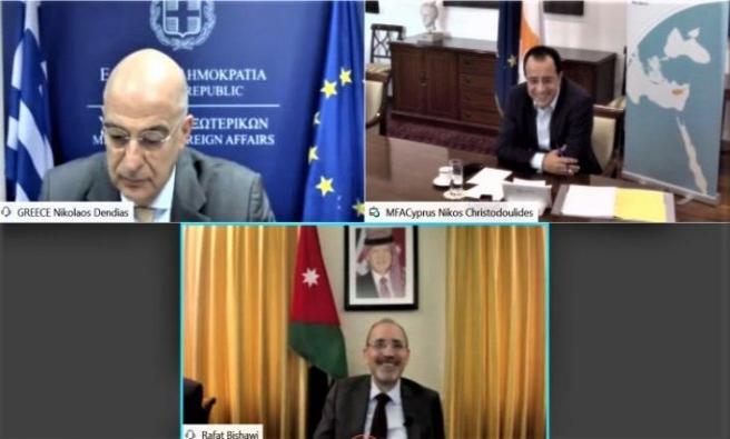 Güney Kıbrıs-Yunanistan-Ürdün bakanları Irak'a gidecek