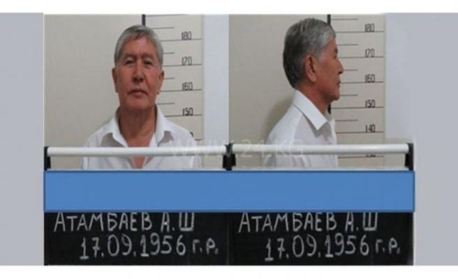 Kırgızistan'da tutuklu eski Cumhurbaşkanı Atambayev hastaneye kaldırıldı