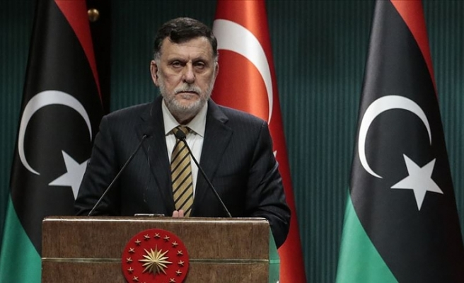 Libya Başbakanı Serrac: Türkiye'nin tarihi ve cesur tutumundan ötürü teşekkürlerimizi ilettik