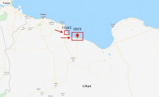 Libya Başbakanı Serrac, Sisi'nin kırmızı çizgi bölge komutanlarıyla görüştü
