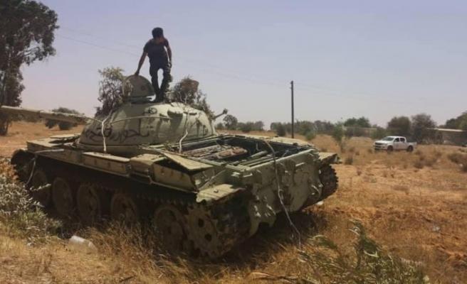 Libya televizyonuna konuştu: Emir bekliyoruz