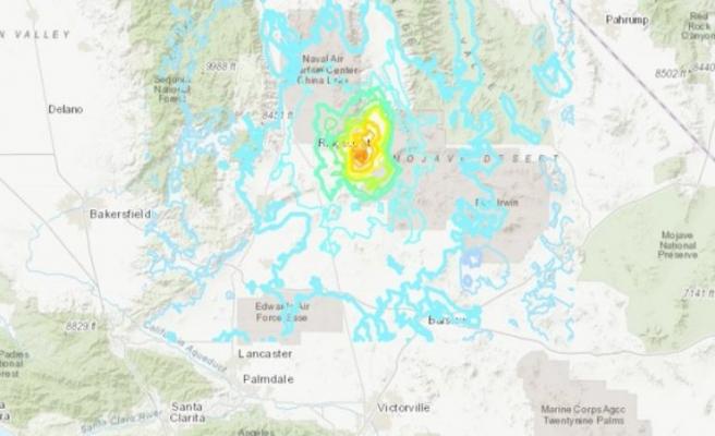 Los Angeles'ta 5,5 büyüklüğünde deprem