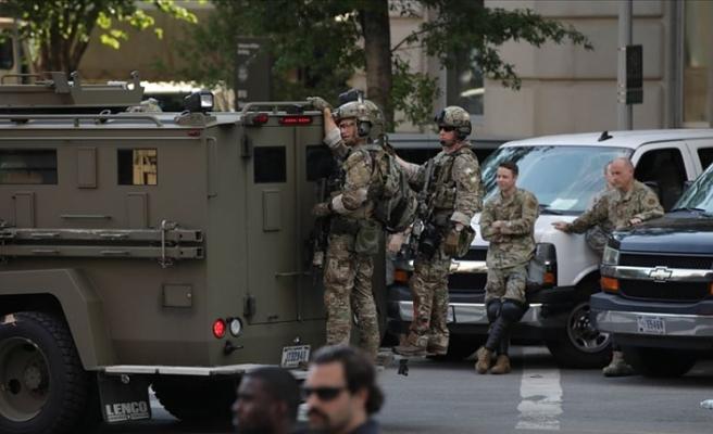Pentagon askerleri Washington bölgesinden çekiyor