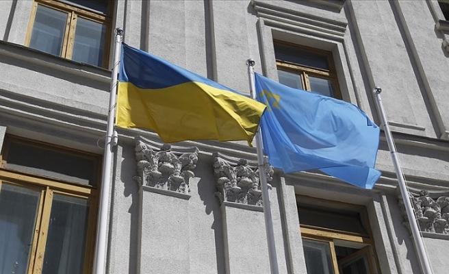 Ukrayna'da Kırım Tatar Milli Bayrak Günü kutlandı