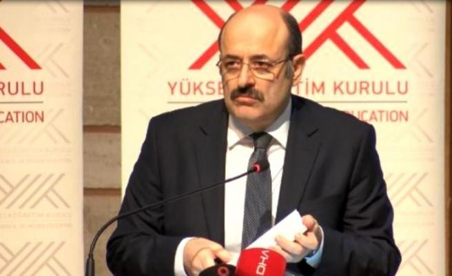 YÖK Başkanı Saraç, diş hekimliği fakültelerinin dekanlarıyla görüştü