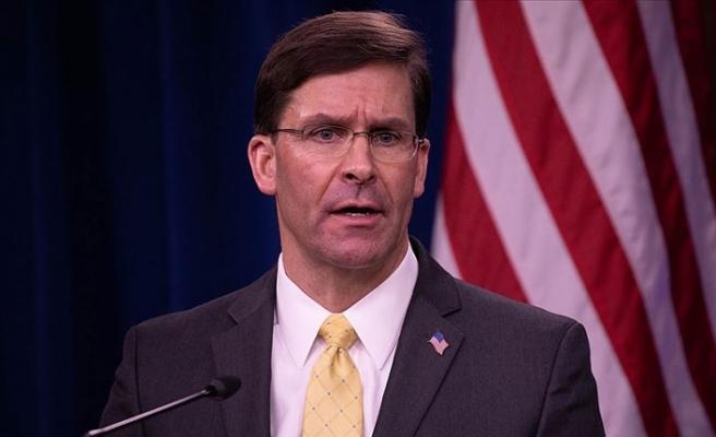 ABD Savunma Bakanı Esper: Kore Yarımadasından asker çekilmesine yönelik talimat vermedim