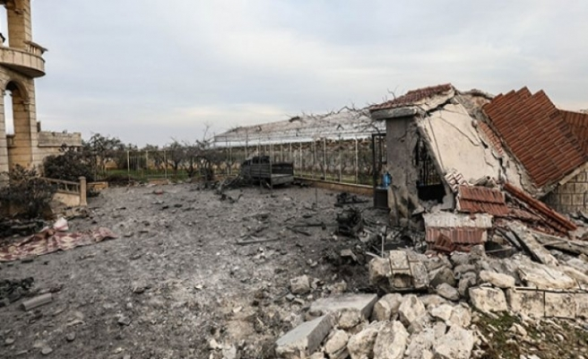 AK Parti Cide teşkilatı İdlib'de 4 ev yaptıracak
