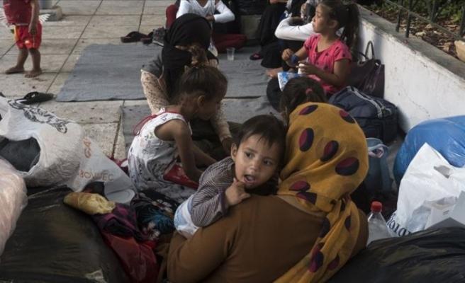 Almanya'nın Yunanistan'daki mülteci kamplarına ilişkin raporunda 'durum felaket' yorumu