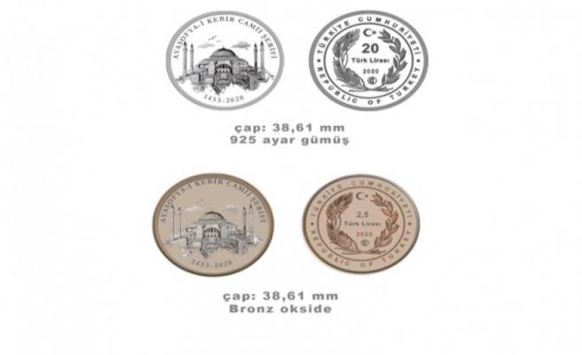 Ayasofya-i Kebir Cami-i Şerifi hatıra paraları online satışa sunulacak