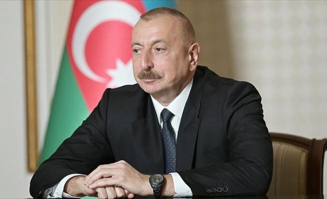 Azerbaycan Cumhurbaşkanı Aliyev: AGİT Minsk Grubundan somut açıklamalar bekliyoruz