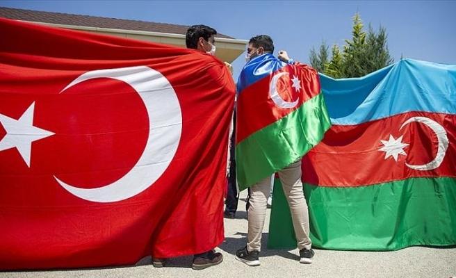 Başkentte Ermenistan'ın Azerbaycan'a yönelik saldırılarına tepki