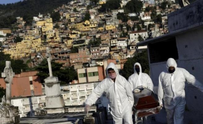 Brezilya, Meksika ve Hindistan'da Kovid-19 kaynaklı can kaybı artıyor