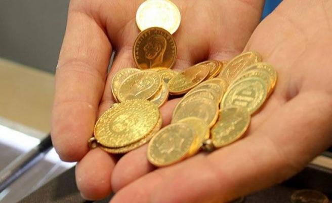 Çeyrek altın 643 lira seviyelerinde