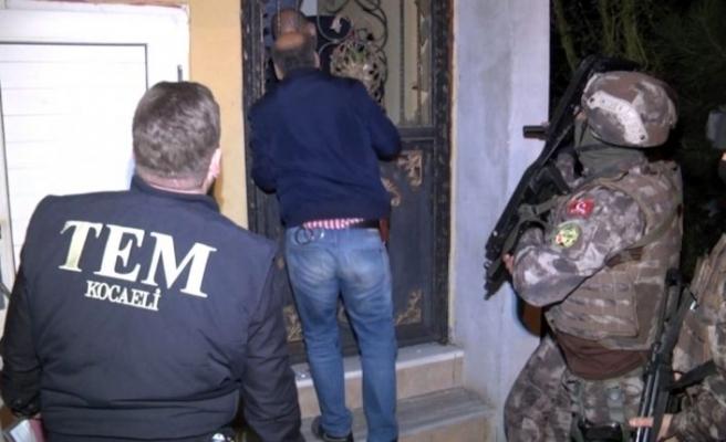 Diyarbakır'da DEAŞ operasyonu: 9 gözaltı