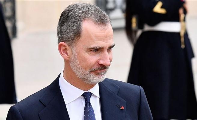 İspanya Kralı 6. Felipe'ye Katalonya'da protesto