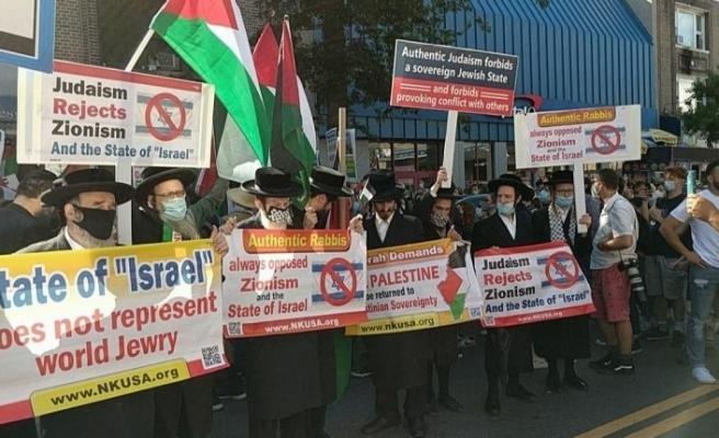 İsrail'in işgal planına karşı sokağa indiler:' '3. Dünya Savaşı başlar'