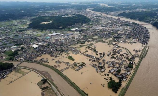 Japonya'nın güneybatısındaki sel ve heyelanlarda ölenlerin sayısı 56'ya yükseldi