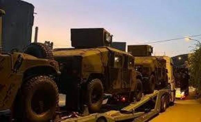 Kosova ABD'den zırhlı araçlar aldı