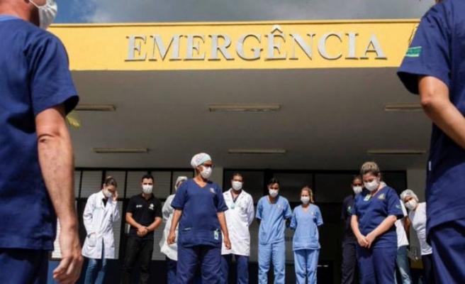 Kovid-19'dan son 24 saatte Brezilya'da 632, Hindistan'da 587, Meksika'da 301 kişi öldü
