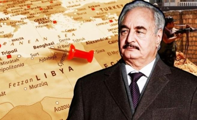 Libya ordusu duyurdu: Mısır'dan köşeye sıkışan darbeci Hafter'e yardım