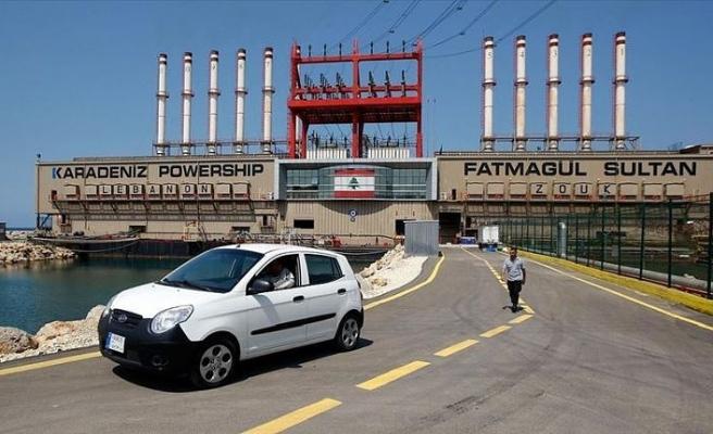 Lübnan'daki Türk enerji gemileri ödeme kısıtlamalarına rağmen üretime devam ediyor