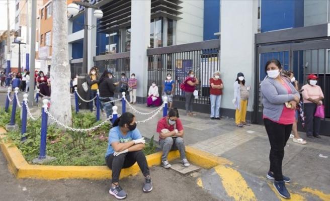 Peru'da Kovid-19 nedeniyle ölenlerin sayısı 10 bini geçti