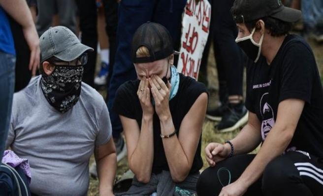 Polis şiddeti protestosunda yine polis şiddeti yaşandı.. Bir gösterici vurularak öldürüldü